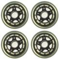 ACRA SKATE Náhradní kolečka do kolečkových bruslí 64 x 24 mm - CS05
