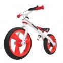 Odrážedlo JD BUG Training Bike nafukovací kola - červené