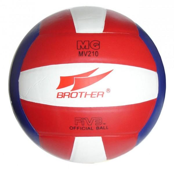 ACRA Volejbalový míč lepený - na šestkový volejbal