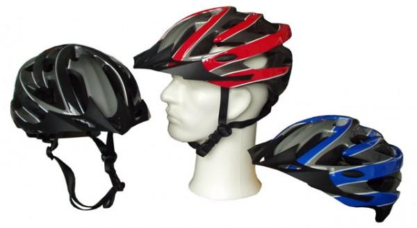 ACRA CSH30L červená cyklistická helma velikost L(58-60cm) 2013