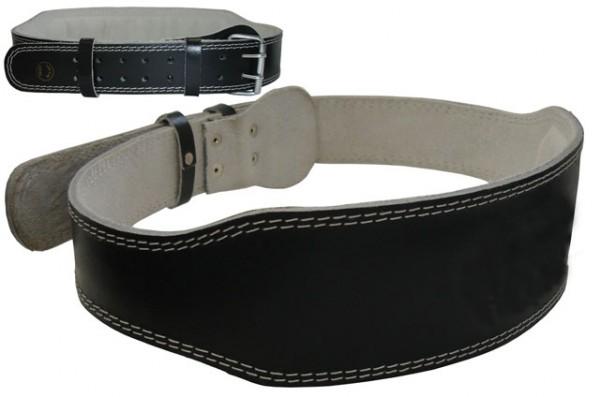 ACRA D16XL Vzpěračský pás kožený - vel. XL - 120 cm