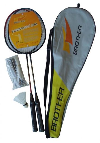 BROTHER G1028S Sada badmintonová se sítí