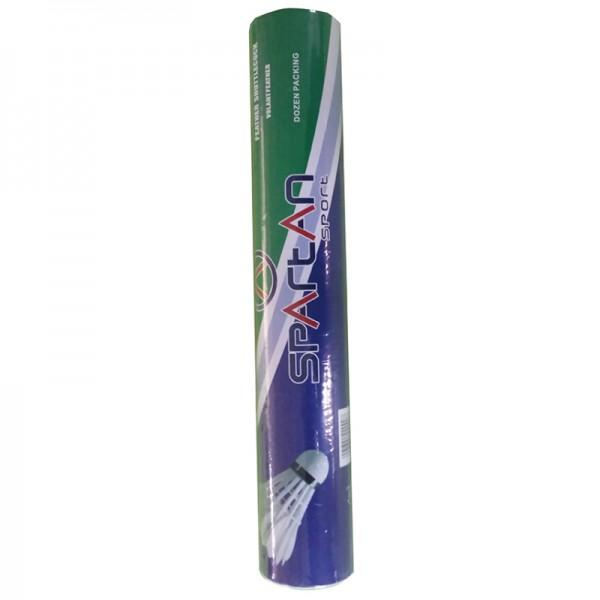 Badmintonové míčky SPARTAN Champion - zelený pruh