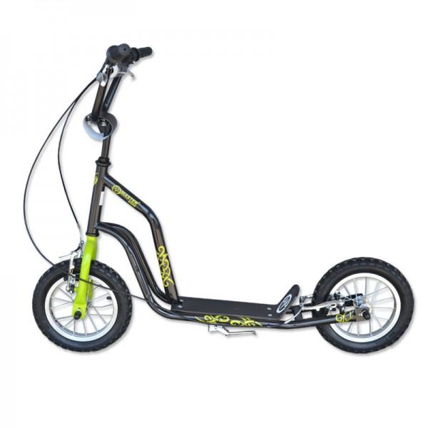 Koloběžka MASTER Ride - černo-zelená