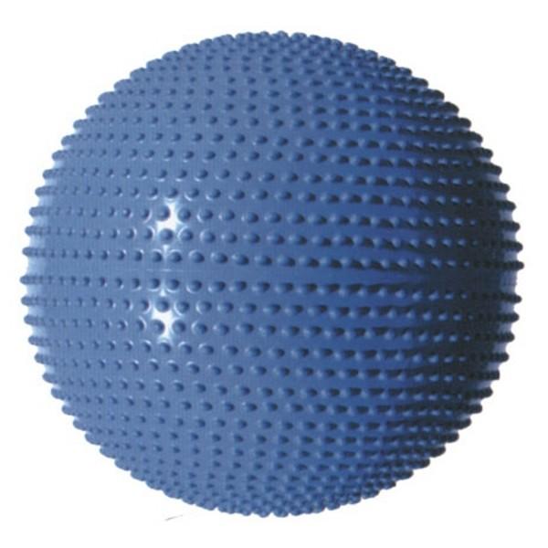 Masážní gymnastický míč průměr 65 cm - sv. fialová