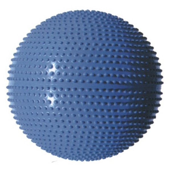 Masážní gymnastický míč průměr 55 cm - stříbrná