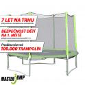 SET trampolína MASTERJUMP 305 cm + ochranná síť vnější