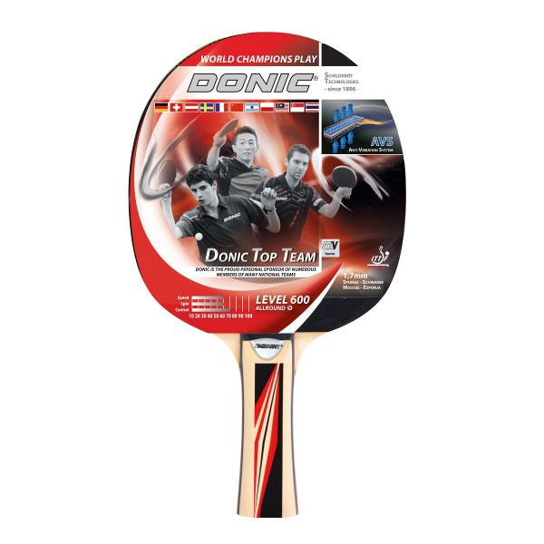 Pálka na stolní tenis DONIC Top Team 600