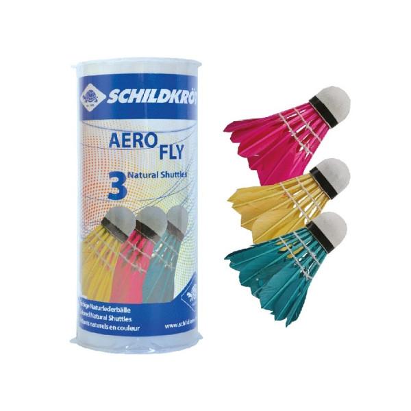 Badmintonové míčky SCHILDKROT Aero Fly 3ks