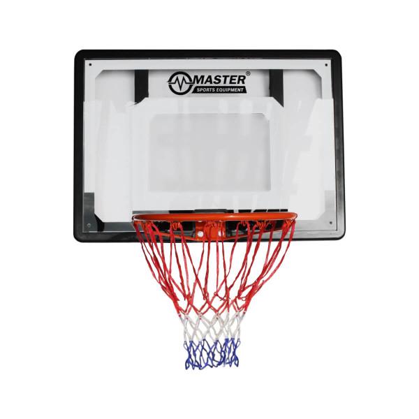 Basketbalový koš s deskou MASTER 80 x 58 cm