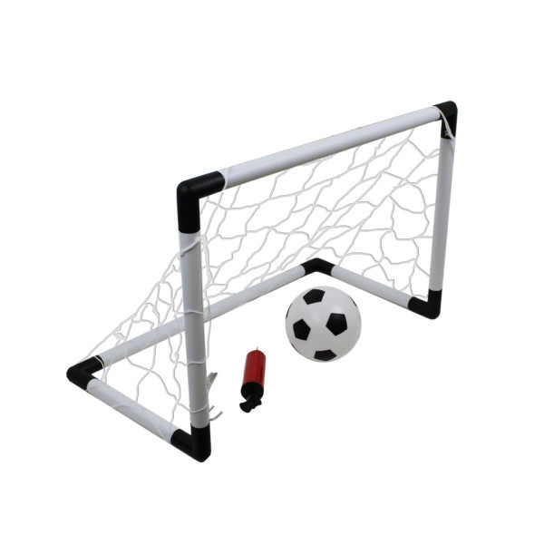 Brankový set MASTER 60 x 40 x 30 cm s míčem