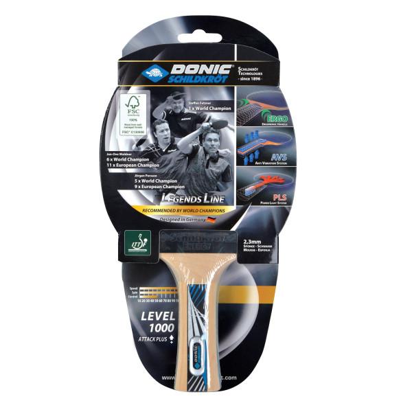 Pálka na stolní tenis DONIC Legends 1000 FSC