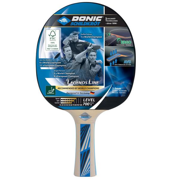 Pálka na stolní tenis DONIC Legends 700 FSC