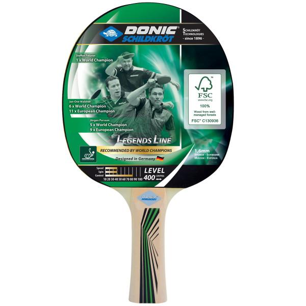 Pálka na stolní tenis DONIC Legends 400 FSC