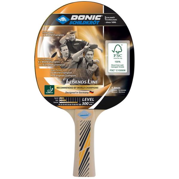 Pálka na stolní tenis DONIC Legends 300 FSC