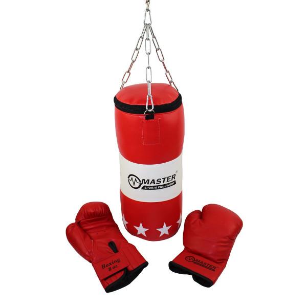 Boxovací set MASTER dětský - pytel + rukavice