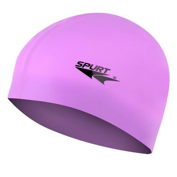 Silikonová čepice SPURT G-Type F228 junior, fialová