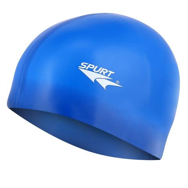 Silikonová čepice SPURT G-Type F206 senior, modrá