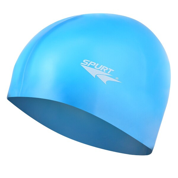 Silikonová čepice SPURT G-Type SC12 senior, modrá