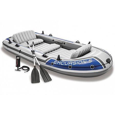 68325 Nafukovací člun Excursion 5 Set - 366 x 168 x 43 cm