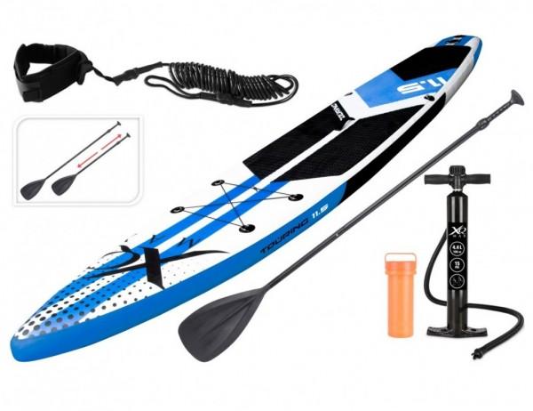 Paddleboard pádlovací prkno 350 cm TORNADO TOURING + pádlo a příslušenství