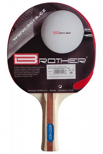 BROTHER G1713 Pálka na stolní tenis 3-star