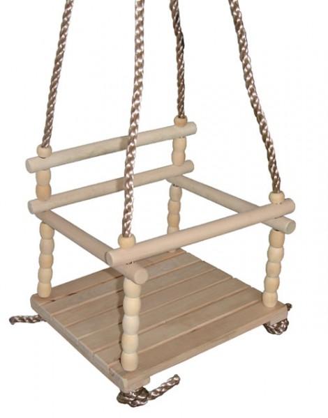ACRA Dětská dřevěná houpačka
